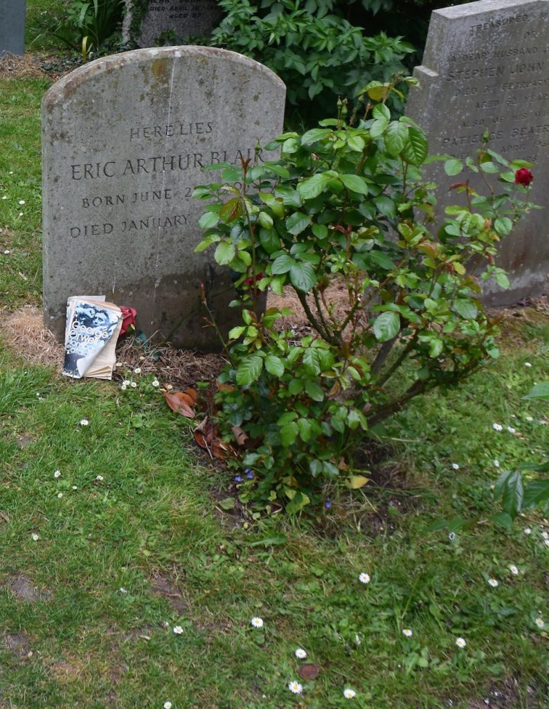 Sutton Courtenay, Oxfordshire. George Orwell's grave