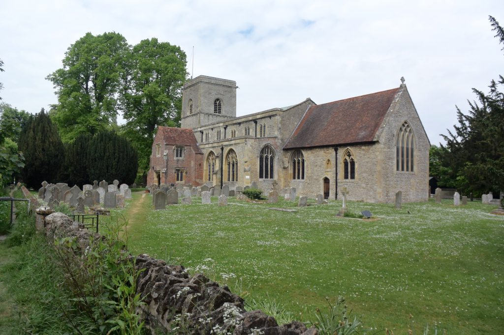 All Saints' church, Sutton Courtenay, Oxfordshire