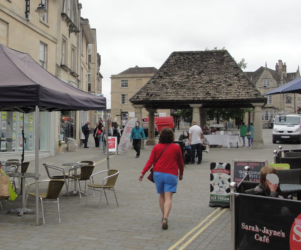 The Market Place, Chippenham, Wiltshire.