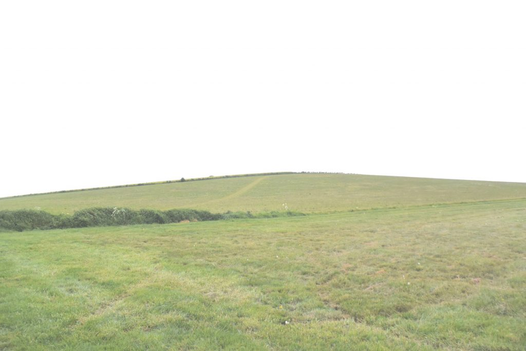 Lowbury Hill, Oxfordshire, viewed from the north. Did the Battle of Ashdown take place here?