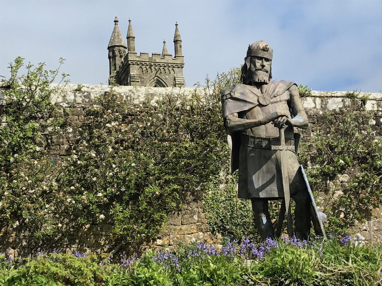 King Alfred at Shaftesbury Abbey