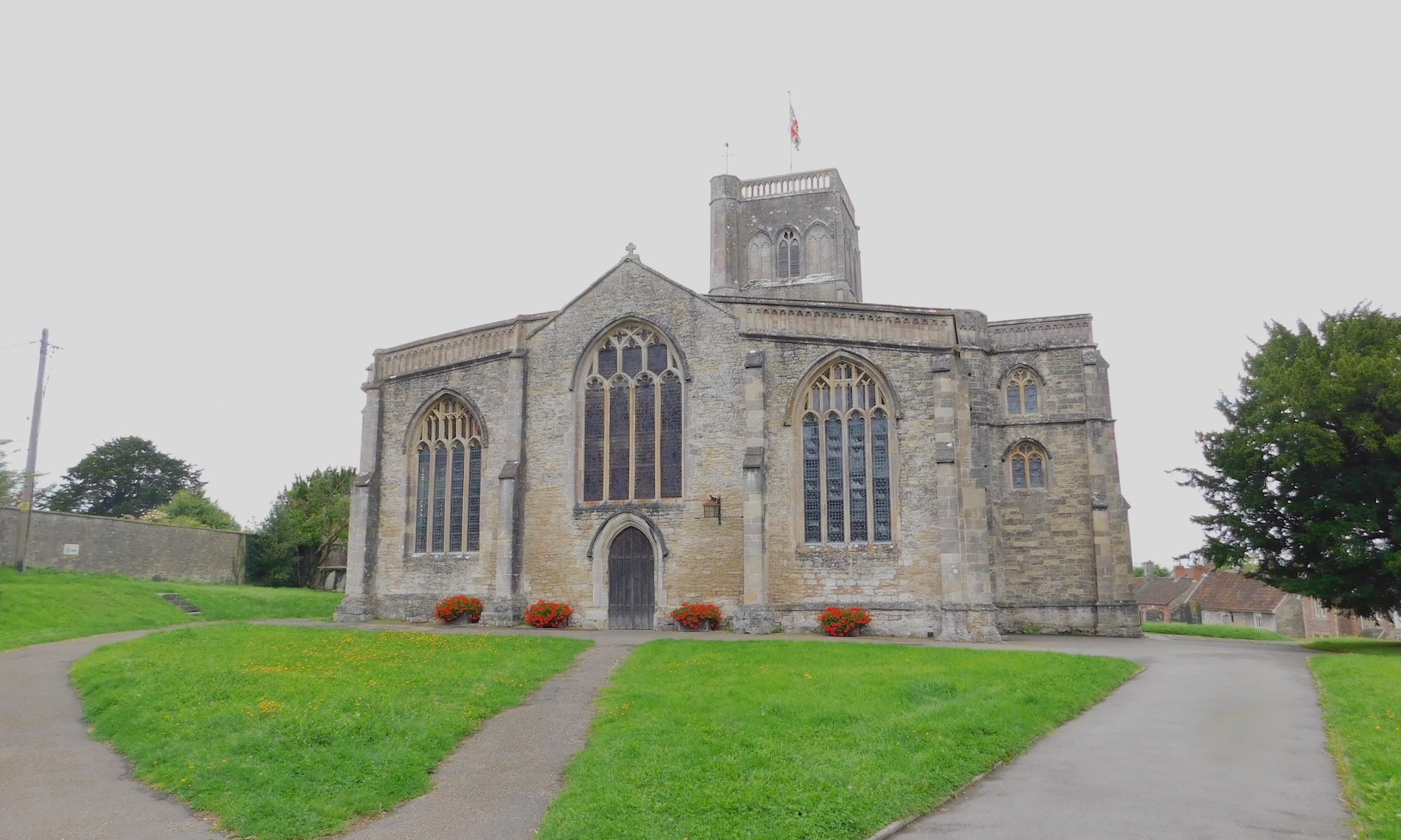 St Mary's church, Wedmore, Somerset Levels