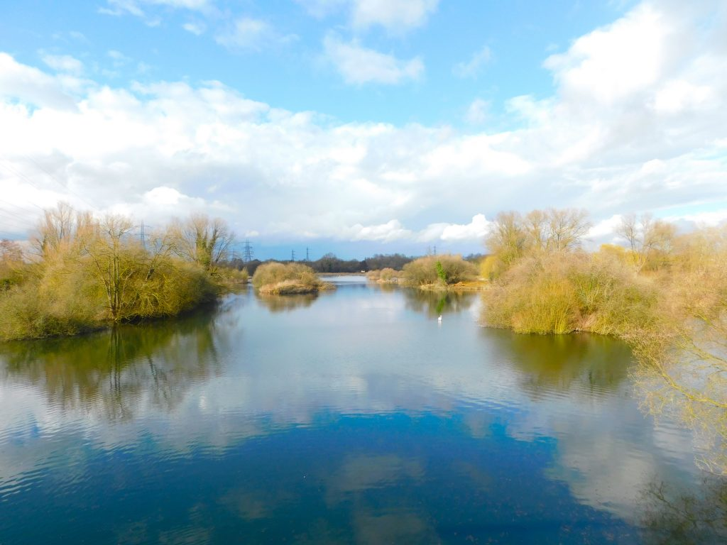 The Lakes near Fishers Green, north of Waltham Abbey