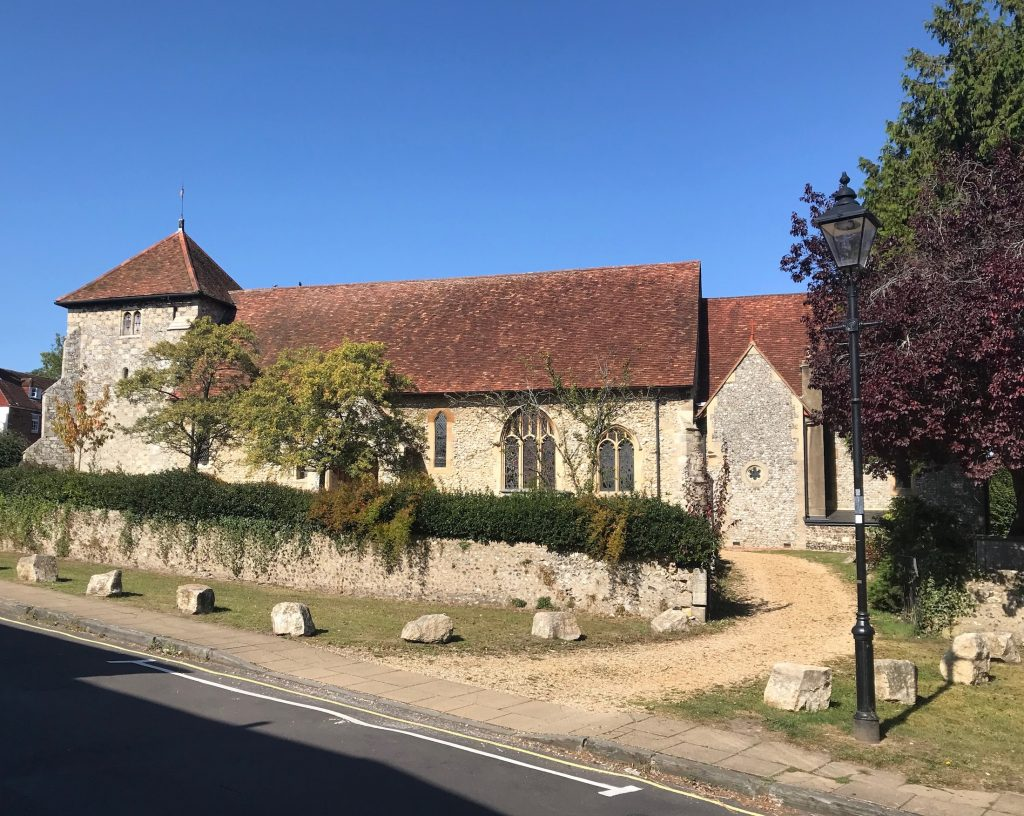 St Bartholomew's church, Hyde, Winchester