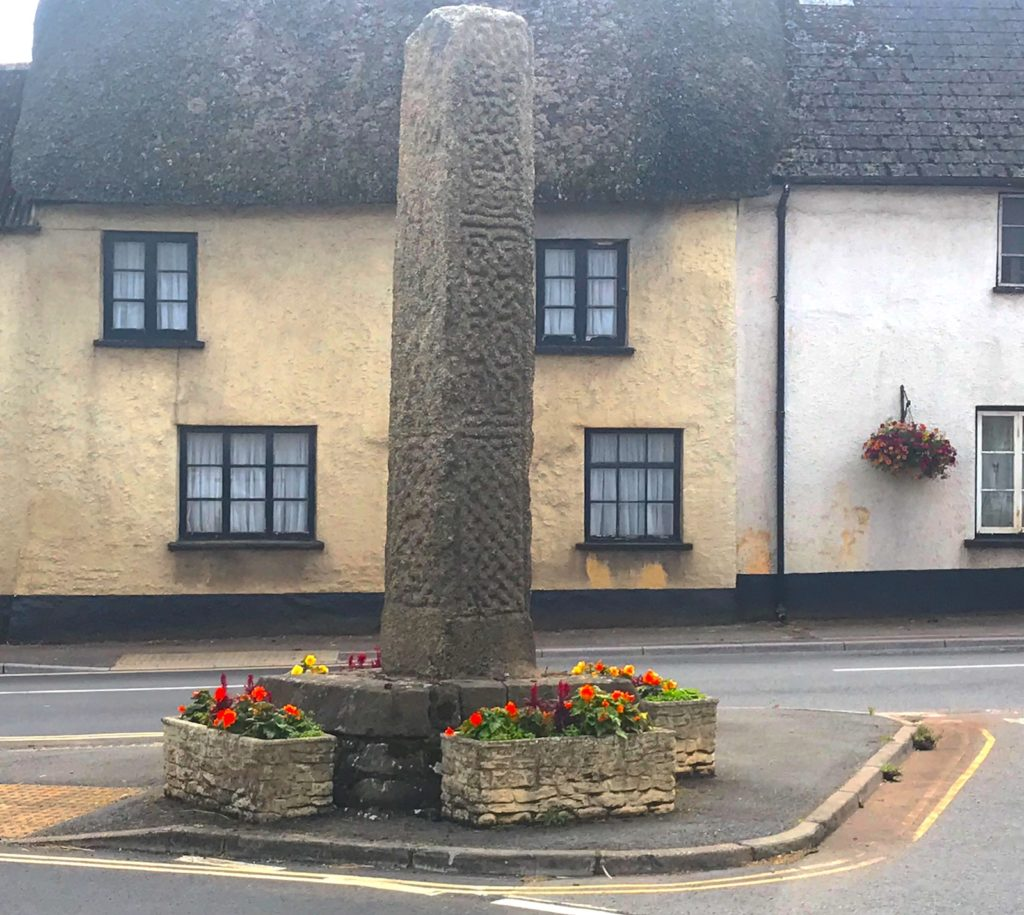 Copplestone Cross, Copplestone, Devon.