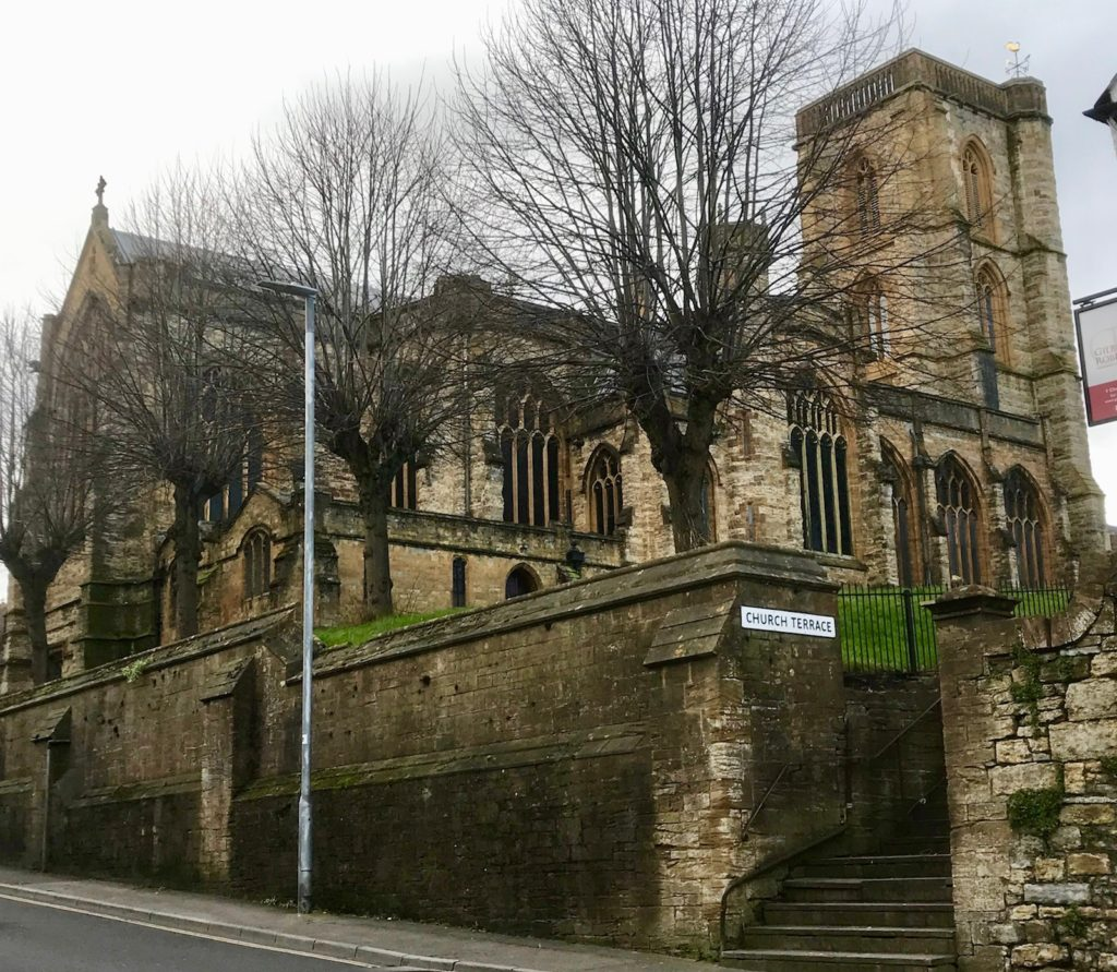 St John the Baptist church in Yeovil, Somerset