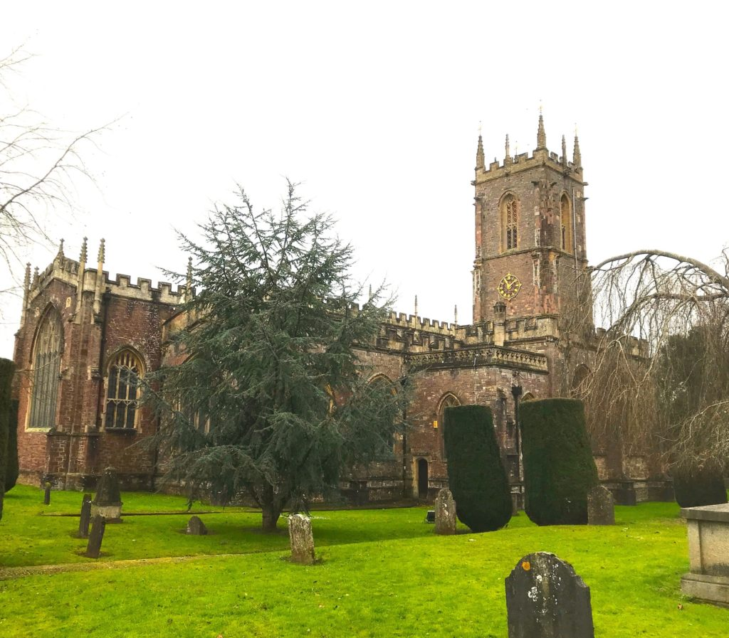 St Peter's church, Tiverton, Devon