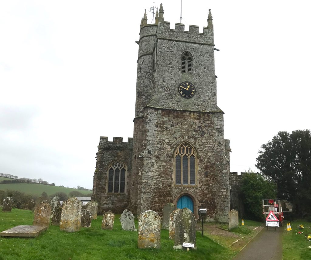 St Mary the Virgin church at Silverton, Devon
