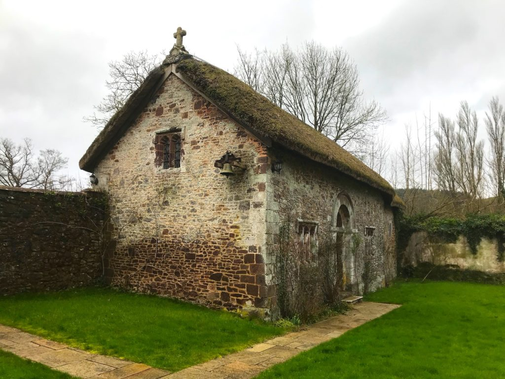 The chapel at Bickleigh Castle, Devon