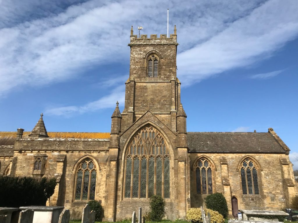 St Mary's church, Bridport, Dorset